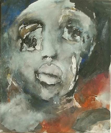 Face-43-60x50-Acryl-Mischtechnk-auf-LW